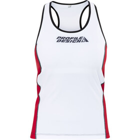 Profile Design ID Tri Top Damer, red/white